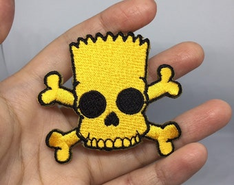 03042bdd35880 Simpsons Patch Cartoon patch Sew on patch Iron on patch Embroidered  patch Patch for jacket