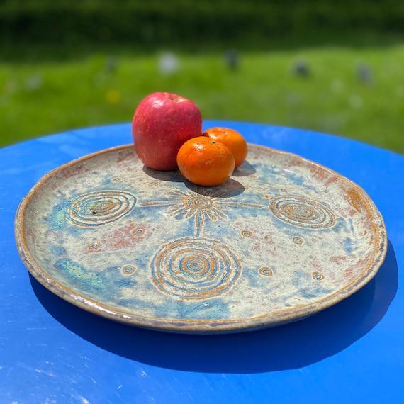 Ceramic Serving Dish, 'Summer Solstice 21'