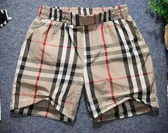 b0d0f13cd828d Inspired men's shorts beige classic monogram
