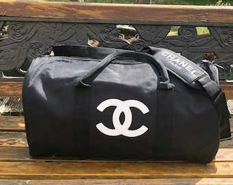 Designer inspiré CC voyage  Gym  Duffle bag 5d31bdf3a8c