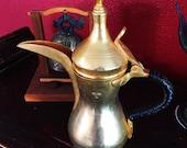 Vintage Arabic Dallah Coffee Pot