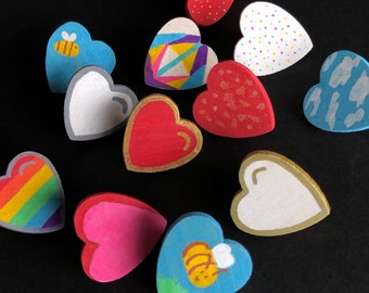 Heart Pins - Gift with Donation