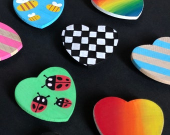 Heart Magnets - Gift with Donation