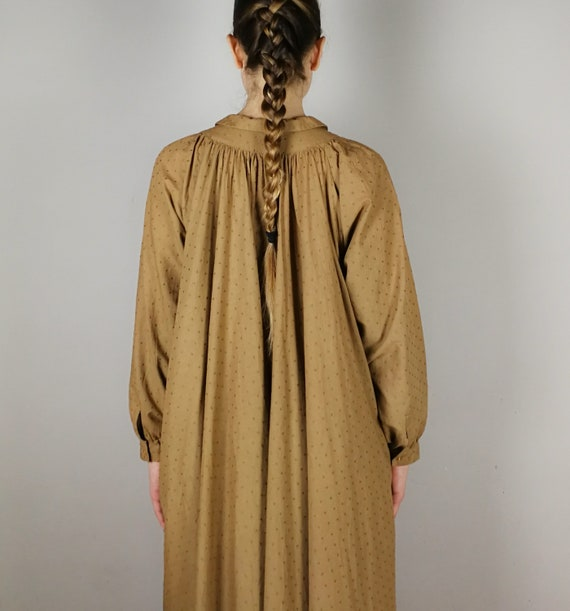 BYBLOS cotton voile nut brown Summer dress, Sprin… - image 6