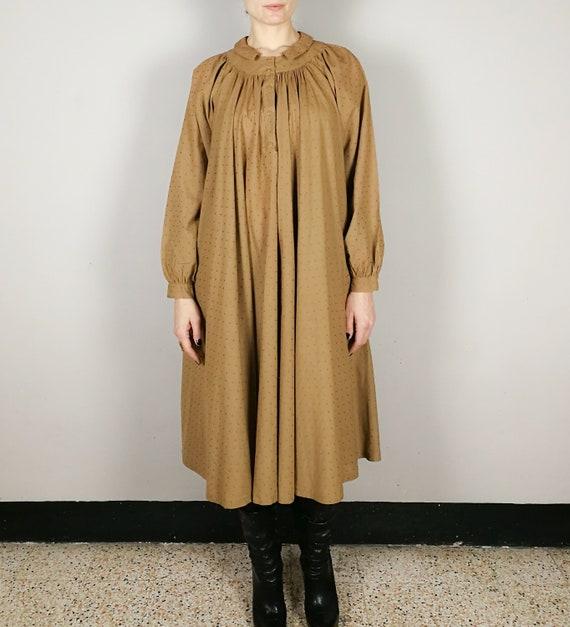 BYBLOS cotton voile nut brown Summer dress, Sprin… - image 3