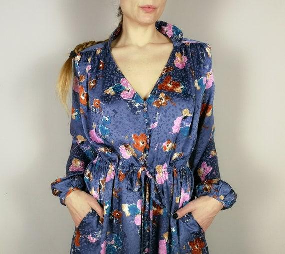 ARTISANAL printed jacquard silk dress