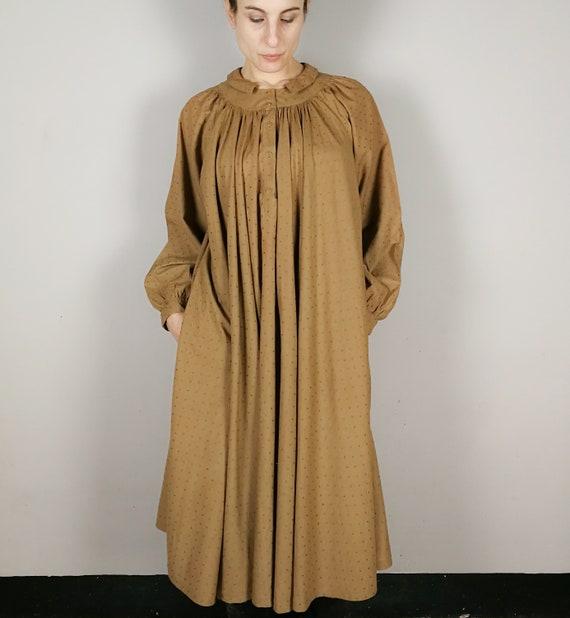 BYBLOS cotton voile nut brown Summer dress, Sprin… - image 2