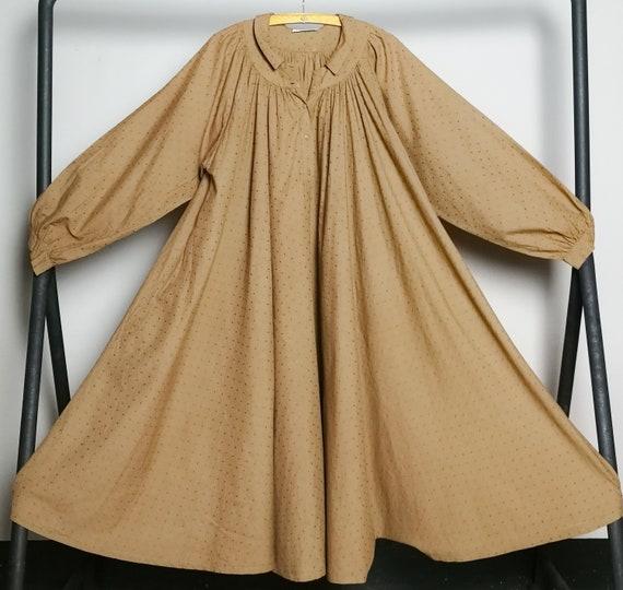 BYBLOS cotton voile nut brown Summer dress, Sprin… - image 10