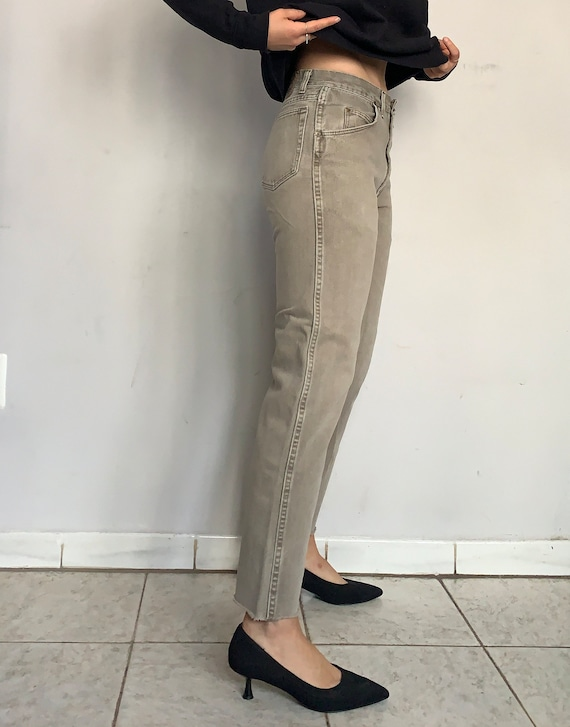 High Waist Wrangler Jeans