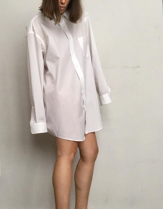 Iconic White Shirt Dress