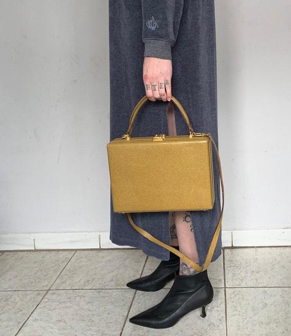 RARE 1960s Fendi Box Bag