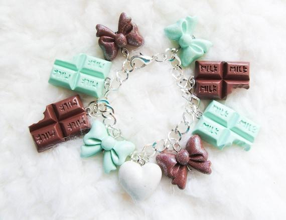 Chocolate Mint Bracelet
