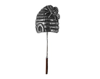bdd87d15c0ec6 WA17 Busy Bee Hive 1cm X 1.3cm on a Stick Pin lead free English Pewter  handmade in Sheffield uk perfect for suits
