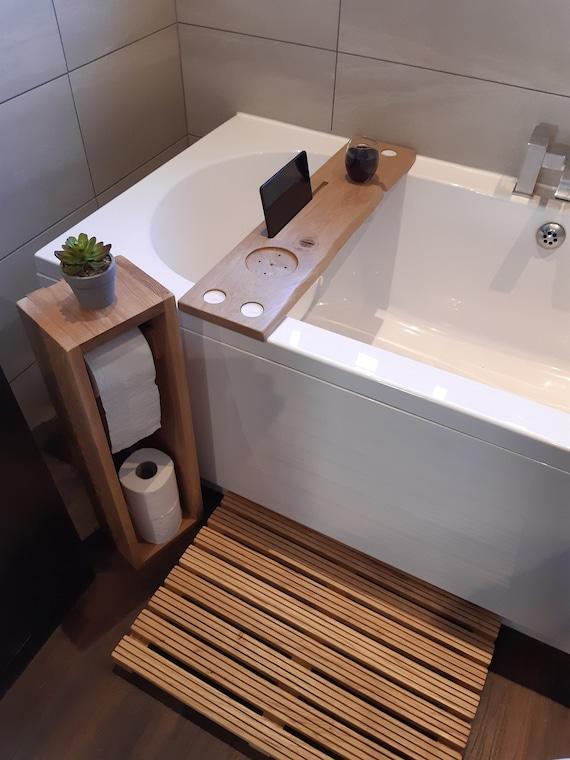 Oak Bathroom Set Bathroom Accessories Set Wooden Bathroom Etsy