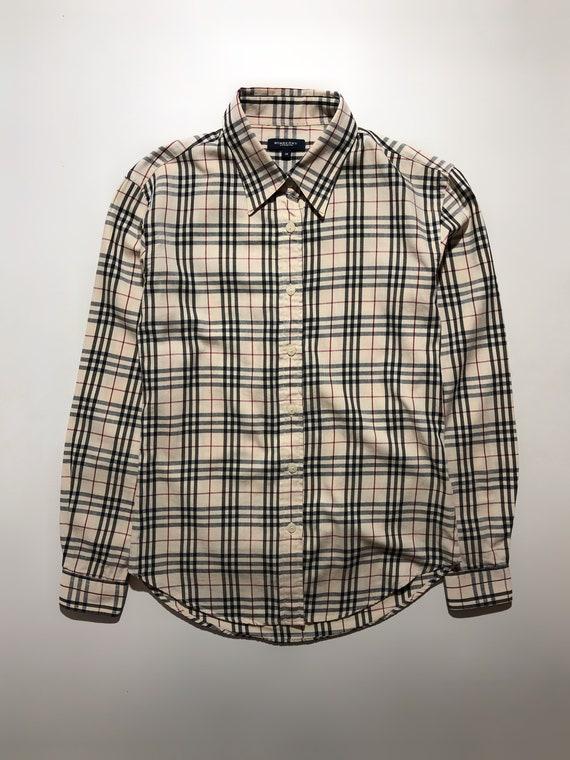 Burberry Checkered Shirt Vintage