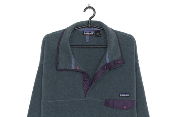 Patagonia vintage 90s Synchilla pullover fleece