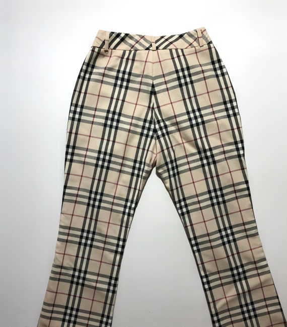 Burberry Checkered Pants Vintage - image 6