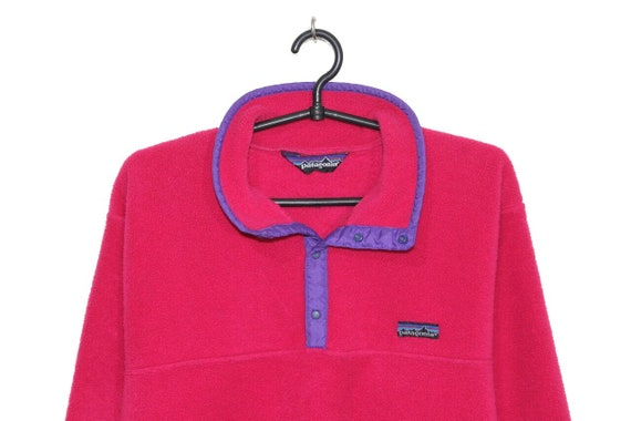 Patagonia vintage pink Synchilla fleece