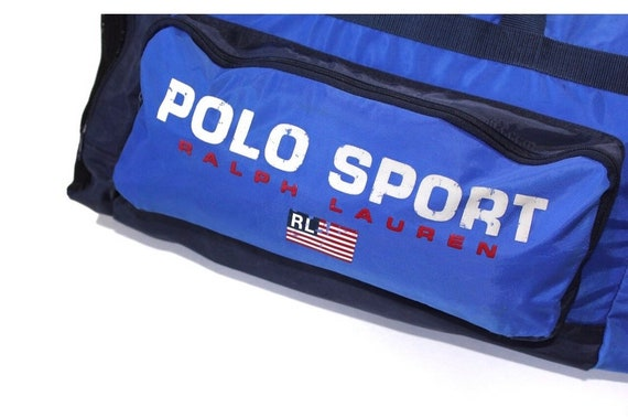 Vintage Polo Sport Big Bag