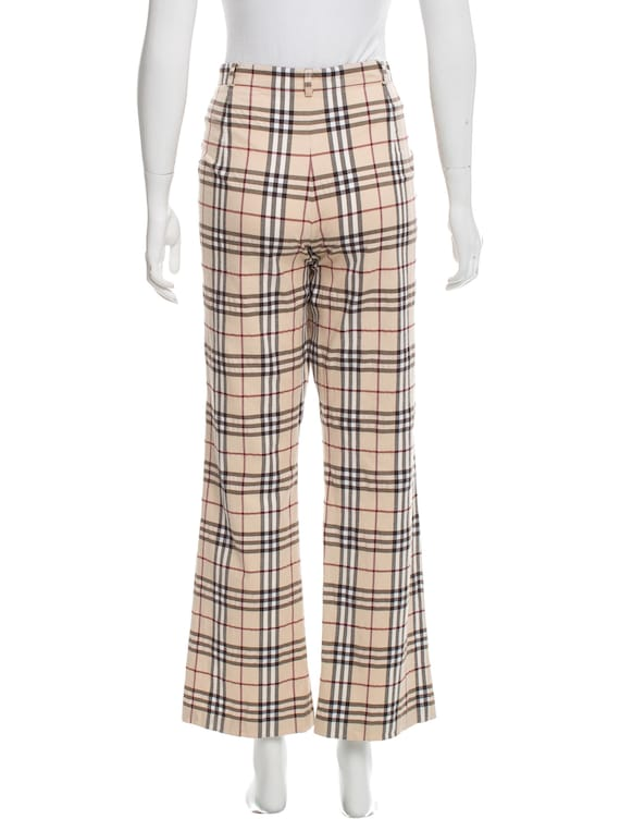 Burberry Checkered Pants Vintage - image 1