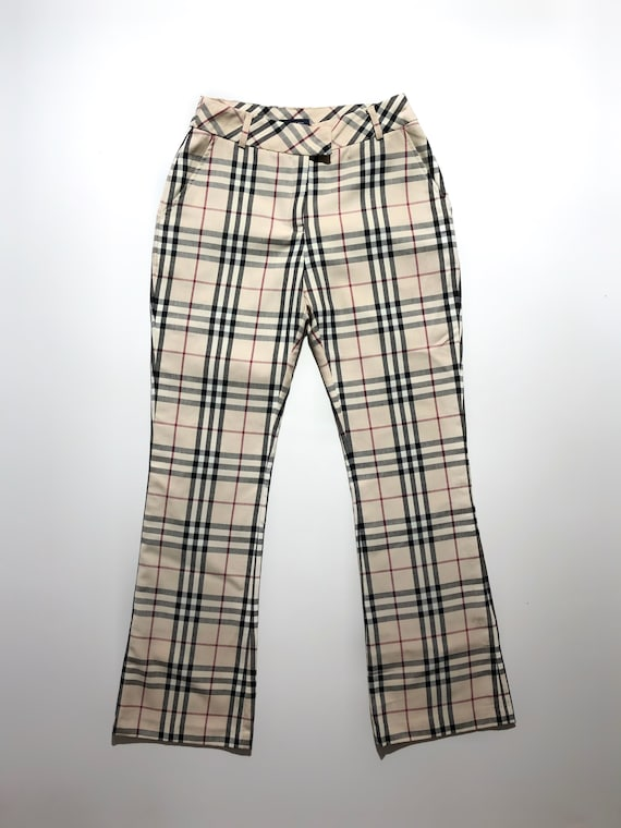 Burberry Checkered Pants Vintage - image 2