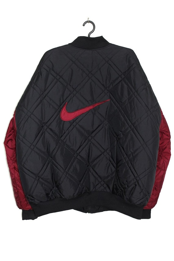 Nike vintage 90s two sided bomber jacket
