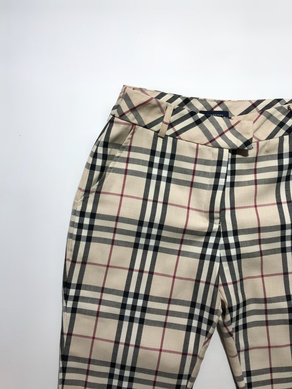 Burberry Checkered Pants Vintage - image 3