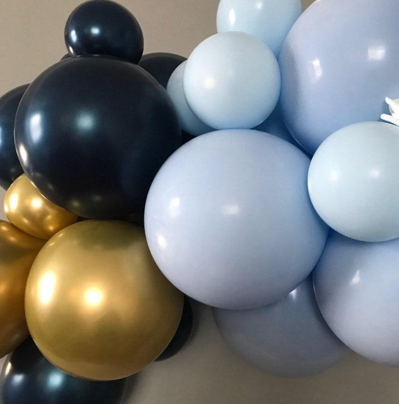 1st Birthday Boy Balloon garland kit-Birthday Balloon garland-Boy Baby Shower-1st Birthday banner
