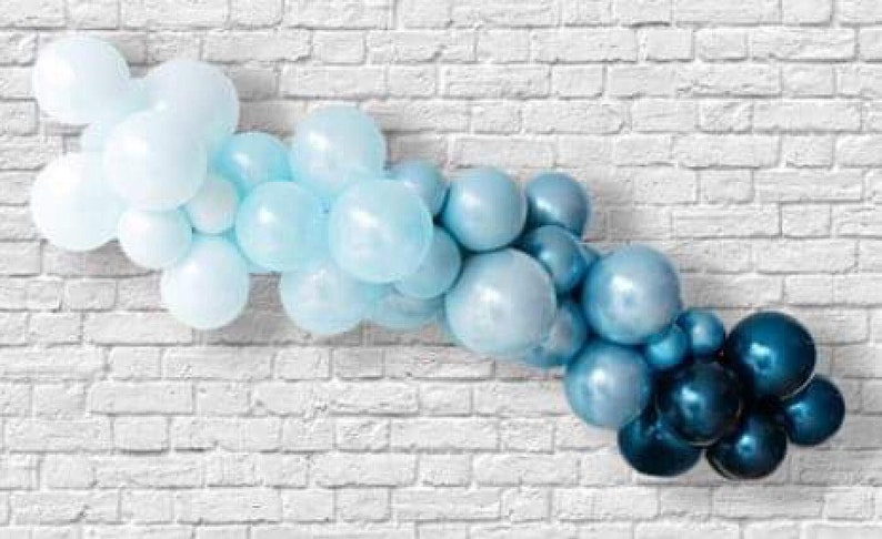 Baby Blue Party Decoration Boy First Birthday