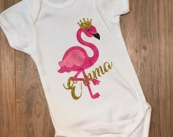 f66485203 Flamingo onesie