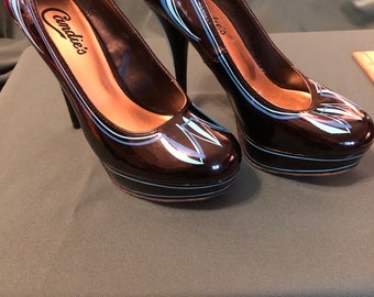 94440fb15 Pinstriped Candie s Shoes
