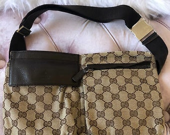 8657918e2256 GUCCI GG Monogram Waist Bag PGG121801