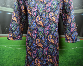 miss ulrike dressing gown bader tag (44) woman frau retro wintage flowers  women 3dbe8296b