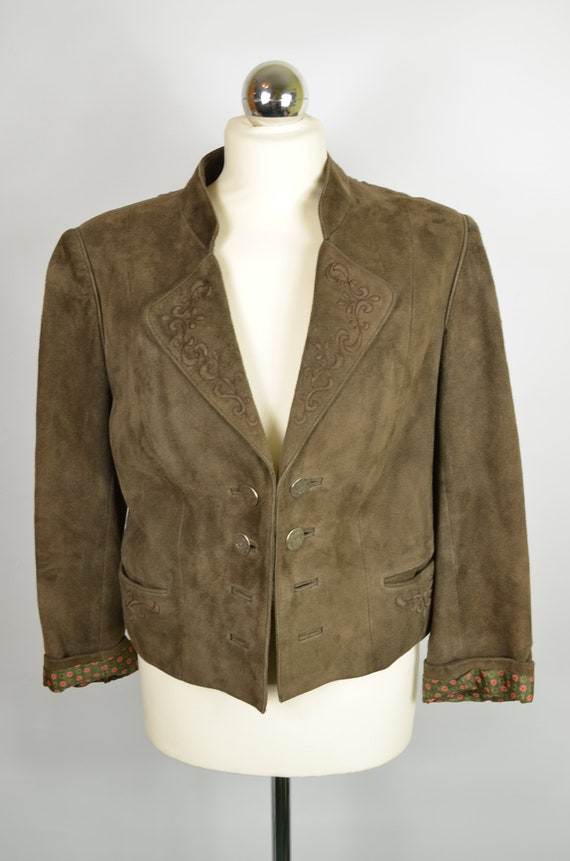 Trachten zeiler womens 38/40 M/L jacket blazer woo