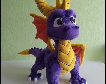 SPYRO, plush Spyro toy,  Spyro dragon,