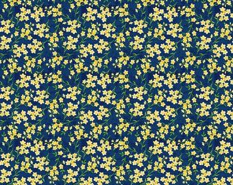 Orange Floral Blue Green Plaid Pink Mini Flower Barrettes Yellow