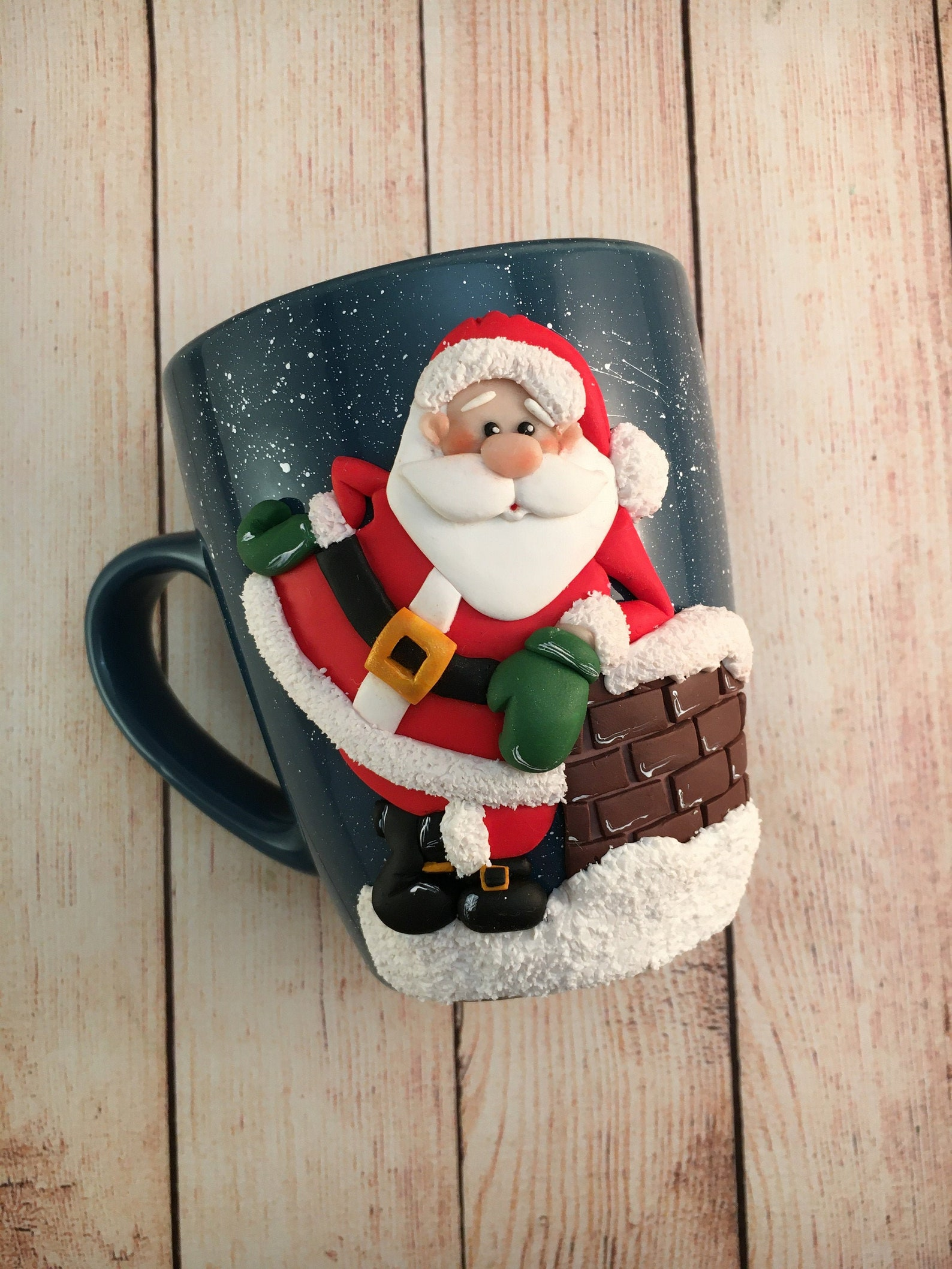 3D Santa Claus Mugs Page Two