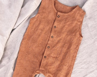 d1131324b05 EASY    Sewing Pattern PDF Instant    Jumpsuit    Linen    Baby Boy Girl     Kids Toddler 3