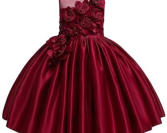 Girls Wedding Dress Etsy