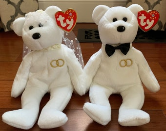 365d7e33469 Bride and Groom Ty Beanie Babies
