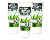 Roop Mantra Herbal Aloe Vera Face Wash for Men and Women, 50ml (Pack of 3)