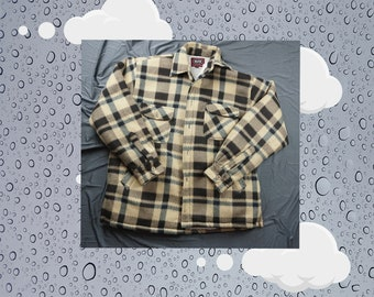 c671b9f3c3b2 Vintage Plaid Button Fleece