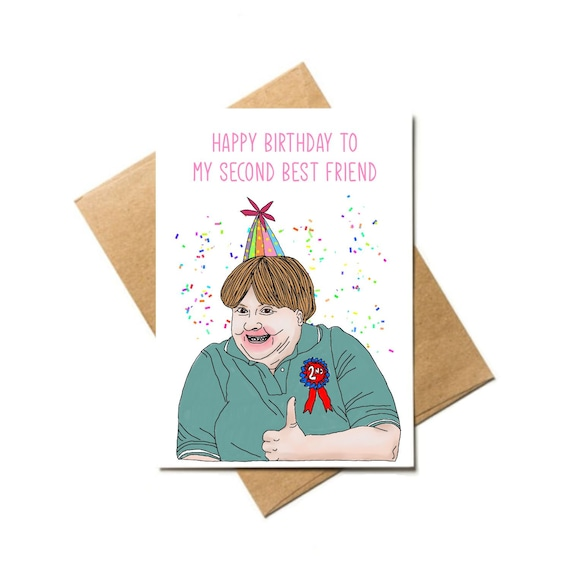 Sharon From Kath And Kim Funny Best Friends Birthday Card Etsy