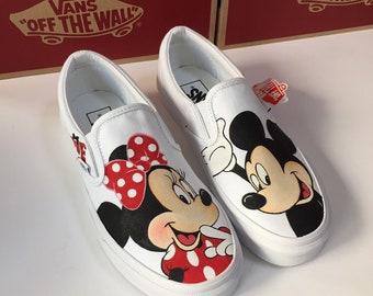 Mickey vans | Etsy