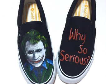 89614d980c Batman Joker paint shoes
