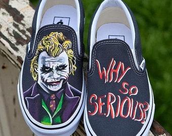 e4422afb2eb0 Batman Joker paint shoes