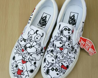 Custom Vans Shoes Etsy