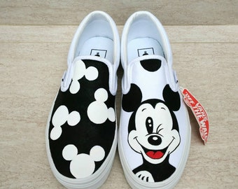 17ff54ab48d57 Mickey mouse shoes | Etsy