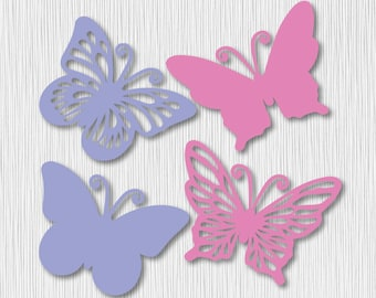 Butterfly Clips Etsy