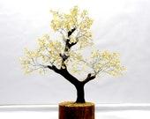 Natural Citrine Chips Decor Gem Tree